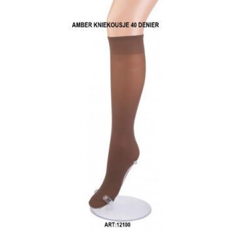 Amber pantykniekousjes in 40 denier