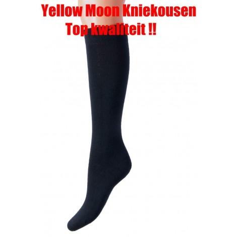 Yellow Moon kniekousen van katoen in diverse kleuren