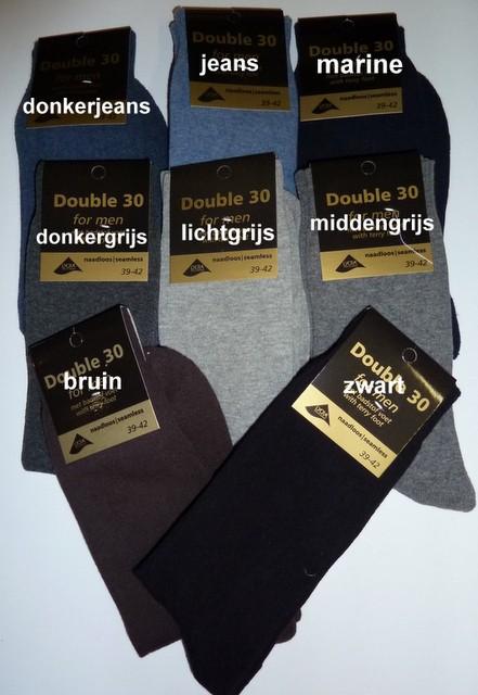 1142123d58b6c5 Heren sokken zonder naad op de tenen