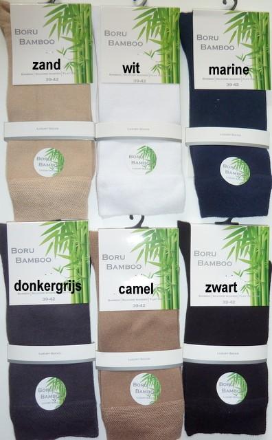 60bb5ebdae5 Boru Bamboe sokken voor dames en heren - Corry Kousen Sokken