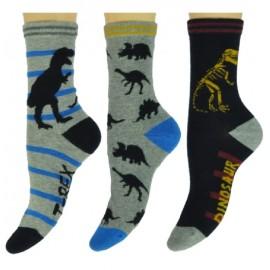 Jongens sokken met een dinosaurius print