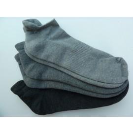 Apollo sneaker sokken van katoen met badstofzool en een pressboord !!
