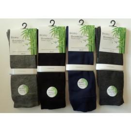 Boru bamboo sokken met badstof (terry) zool