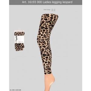 Sarlini dames luipaard legging van katoen