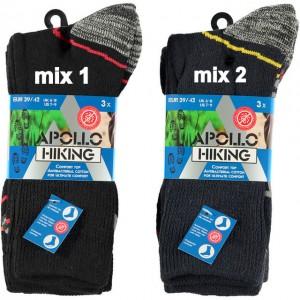 Apollo Hiking sokken per bundel van drie paar voor het werk en om te wandelen