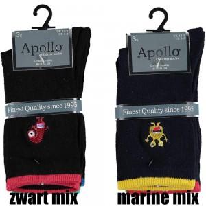 Apollo sokken met gekke grappige printen