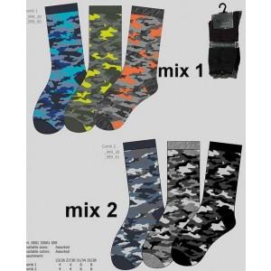 Apollo sokken met camouflage/ leger prints