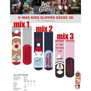 Super leuke kerstsokken voor kinderen met antislip