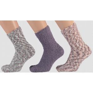 Heerlijke warme soft sokken voor kinderen in leuke kleuren per drie paar