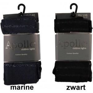 Apollo kinder majo met horizontale glitter ringen