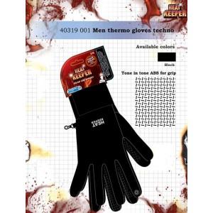Heatkeeper dunne thermo handschoen met abs grip aan de binnenkant