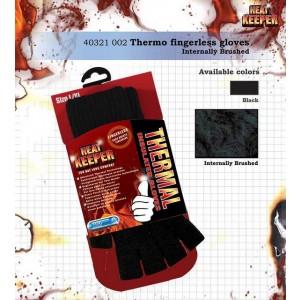 Heat Keeper handschoenen zonder vingers met fleece voering