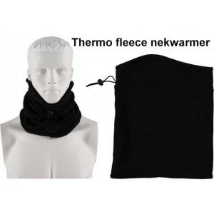 Heatkeeper col thermo fleece nekwarmer met binnenvoering
