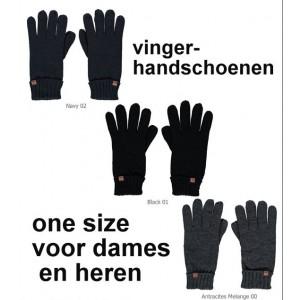 Gebreide handschoenen van Sarlini voor dames en heren
