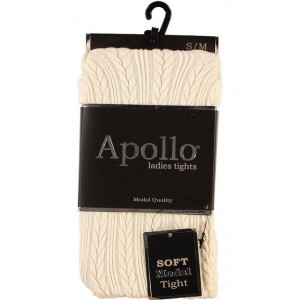 Apollo dames soft modal majo met een prachtig kabel patroon