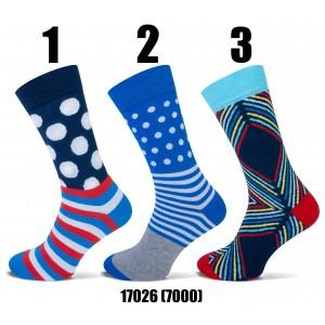 Happy Teckel socks met diverse printen voor heren