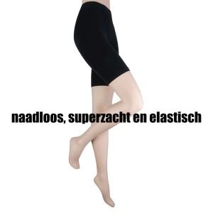 Marianne seamless short legging voor dames van viscose