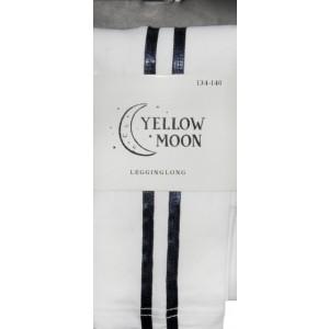 Yellow Moon sportieve kinderlegging met 2 biezen (strepen) opzij