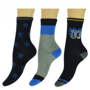 Jongens sokken met verschillende stoere printen