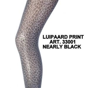 Marianne fantasie panty met luipaard print