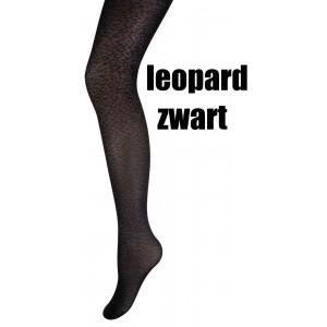 Marianne panty met een leopard motief