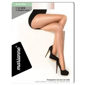 Marianne Beautiful 15 denier zijdeglans lycra panty