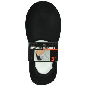 """Invisible Sneakers naadloos van 65% katoen met silicone in de hak per 3 paar (zie """"Meer afbeeldingen"""")"""