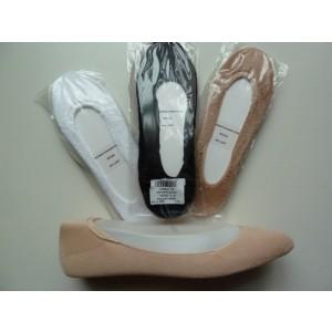 Badstof voetjes van katoen.