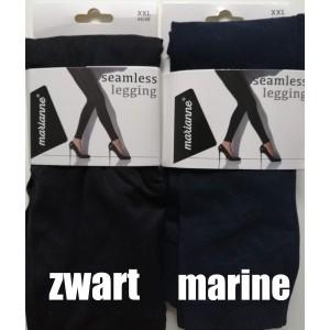 Marianne Seamless legging voor dames. Deze legging heeft geen naden in het kruis en op de billen