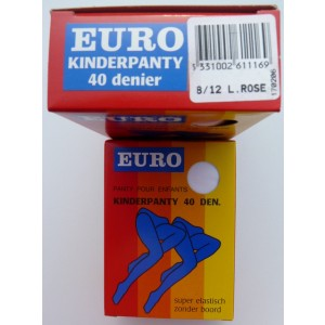 Euralon uni kinder panty in 40 denier