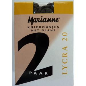 Marianne kniekousen 20 denier met lycra.