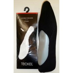 Teckel badstof invisible sneaker/ kousenvoetje verpakt per 2 paar