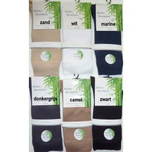 Boru Bamboe sokken voor dames en heren