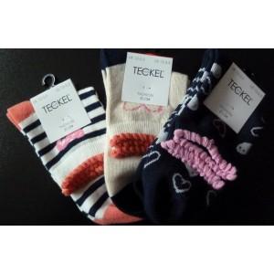 Leuke zomer sokken voor meisjes met een kort boordje