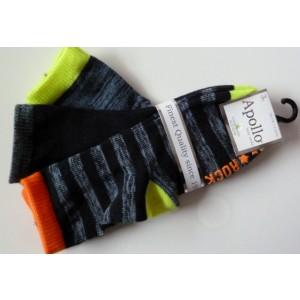Apollo baby sokjes van katoen met antislip en felle kleuren