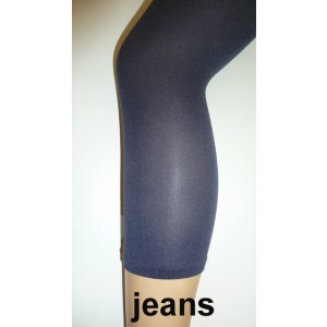 Yellow Moon capri/ driekwart spijkerbroek legging van 65% polyamide