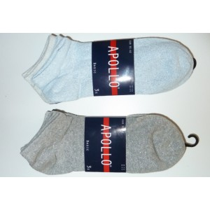 Apollo sneaker glitter sokjes voor dames