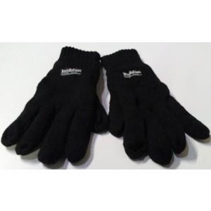 Gebreide handschoenen met fleece voering