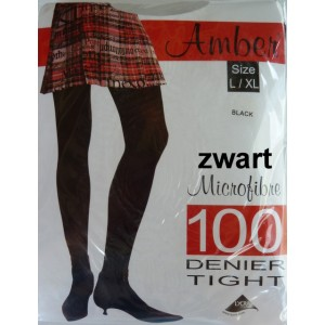 Amber/ Apollo panty 100 denier met lycra. De dikste panty in micro garen, mooi glad en schijnt bijna niet door