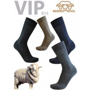 Vip sokken van 77% merino wol