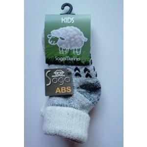 Merino wollen antislipsokken voor kids. Nooit meer koude voeten!!