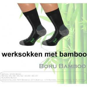 Boru Bamboo werksokken