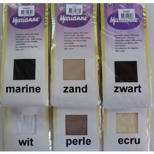 Marianne sokje katoen (55%) polyamide (45%)
