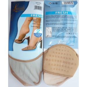 Levante teenstukjes met siliconen zool voor in schoenen met een open hak.